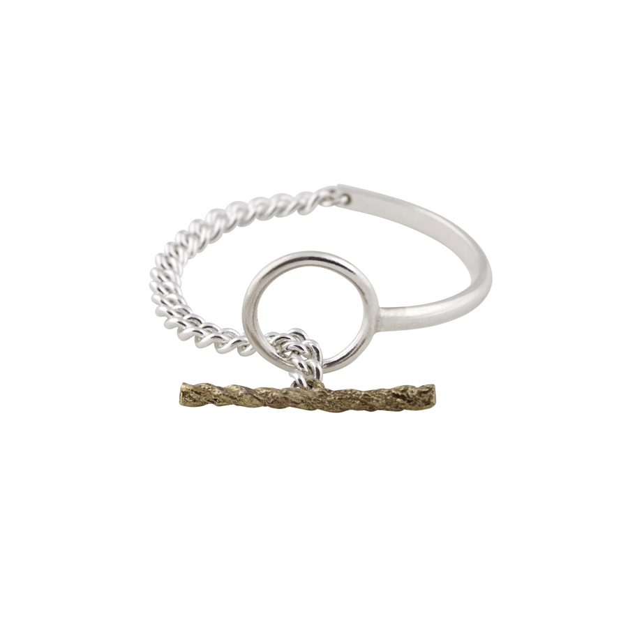 Bar Loop Bracelet_680 nis