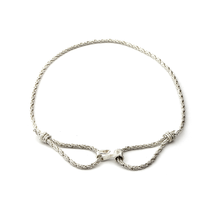 Rope Choker necklace_770 nis