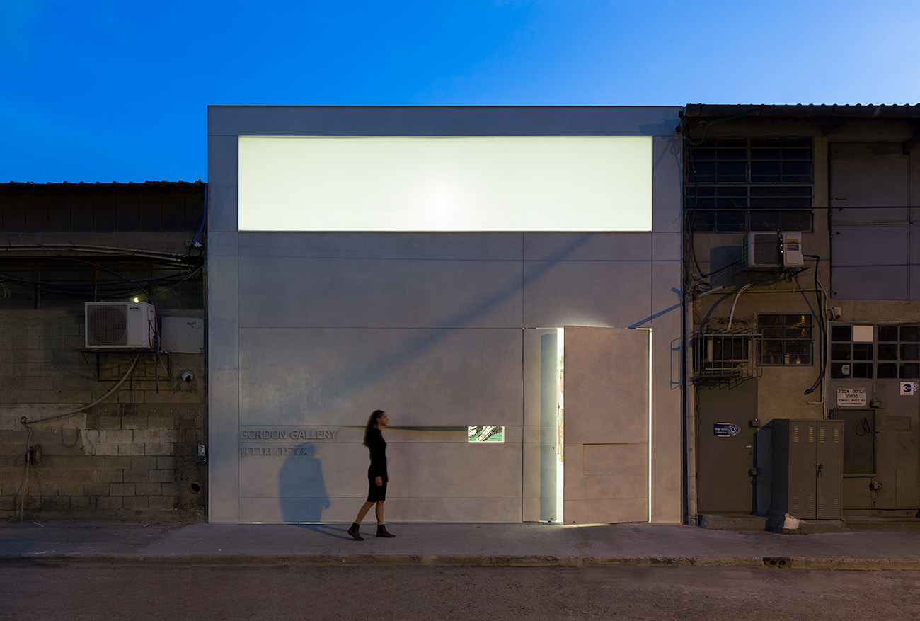 Gordon Gallery, Tel Aviv. Photo credit: Elad Sarig