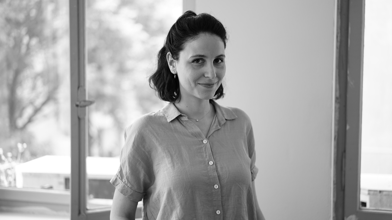 Graphic designer esigner and art director Nina Mendelsohn
