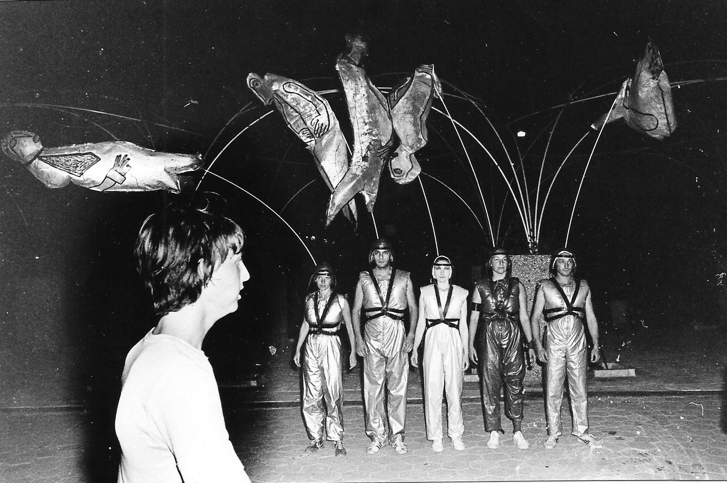 Street Segment, visual theater, 1982.
